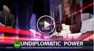 Undiplomatic power | CrossTalk