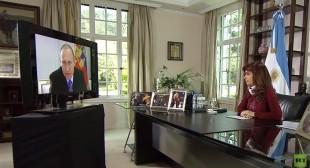 Argentina's Kirchner: 'Putin is global leader in fighting terrorism'