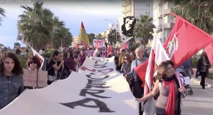 'Sicily is not a war lab!' Hundreds march against NATO drills (PHOTOS, VIDEO)