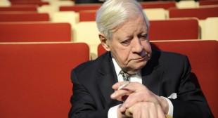 Helmut Schmidt's last cigarette: Europe has lost a voice of reason