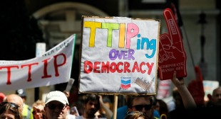 Exposed: 'Full Range of Collusion' Between Big Oil and TTIP Trade Reps