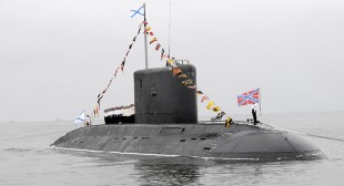 Russian submarine with cruise missiles off Syria coast – reports