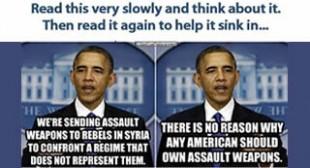 The Hypocrisy of Obama's Gun Control Crusade