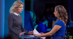 Anissa Naouai grills Russian FM spokeswoman over alleged bombings in Syria & media propaganda