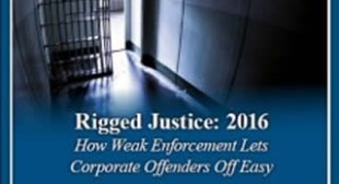Warren Releases Rigged Justice Report Detailing Lax Corporate Crime Enforcement – Corporate Crime Reporter