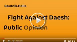 Sputnik.Polls: Fight Against Daesh. Public Opinion vs Facts
