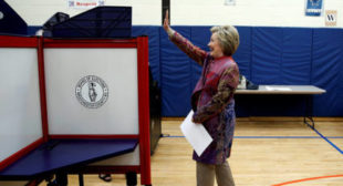 Hillary Clinton's support base as bogus as US Democracy