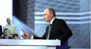 Putin Deftly Answers Russia's Questions
