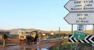 UN Considers Golan Heights Illegally Annexed – de Mistura