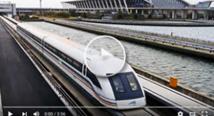 "Shanghai, Magnetic Levitation Train ""Maglev"" – Trip to China"