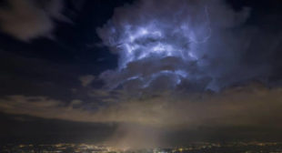 Spooky clouds over CERN spark 'portal to other dimensions' theory