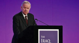 'Chilcot reveals: Case for Iraq war made before weapon inspections'