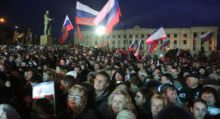 Crimean leader says republic to stay with Russia forever