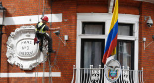 'Assange kill attempt'? Unknown man climbs Ecuador's London embassy, sheltering WikiLeaks chief