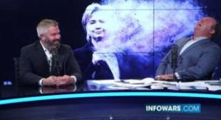 Alex Jones Caught by Surprise Hillary Attack