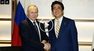Putin, Abe agree on joint Russia-Japan activities on Kuril Islands