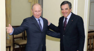 Wary of Trump, Fillon Calls for Mending Fences With Russia