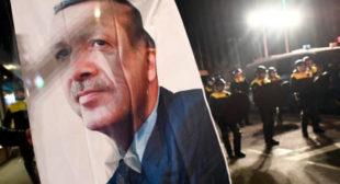 Erdogan calls Merkel a 'terrorist supporter,' says Turkey will go to ECHR over Netherlands rally row