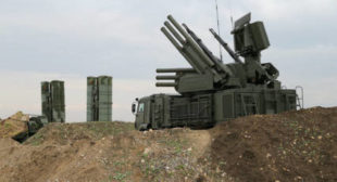 Without Pantsir, Buk and Tor, S-400s Alone Not Enough to Cover Syria's Skies