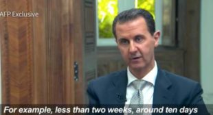 Assad: US 'Fabricated' Chemical Weapons Attack, Videos Could be Staged