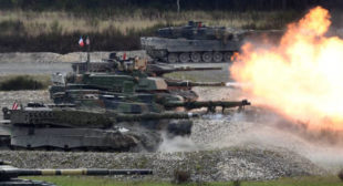 Austria blasts past Germany to win NATO's tank games (VIDEO)