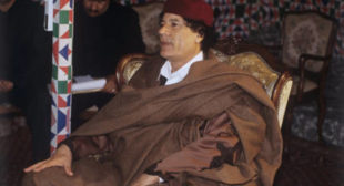 Why Europe Doesn't Feel Right Without Gaddafi