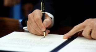 President Trump Signs Anti-Russian Sanctions Into Law