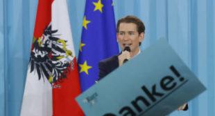 Sebastian Kurz, most talented Austrian leader since WWII, will toughen immigration laws – analysts