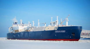 First tanker of Russian gas arrives in UK to keep Britons from freezing this winter