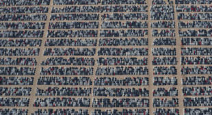Massive car graveyard where Volkswagen diesel vehicles go to die (VIDEO)