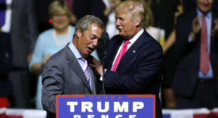 Nigel Farage breaks with 'friend for life' Donald Trump over military intervention in Syria