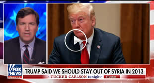 'Foreign Policy by Viral Video': Tucker Rips 'Talk Show Generals' Calling for War in Syria