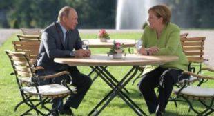 Iran deal, Syrian crisis & Nord Stream 2: Putin, Merkel find common ground on tough intl issues