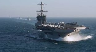 NATO Supreme Commander: US Carrier Off Norway's Coast Puts Russia 'On Notice'