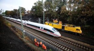 New railroad link to connect Russia's St. Petersburg with Germany's Berlin