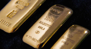 Bank of Russia Cashes in as Price of Its Recently Stockpiled Gold Skyrockets
