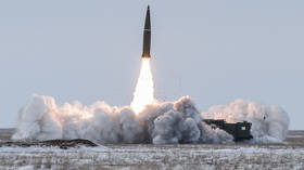 Russia suspends INF Treaty in 'mirror response' to US halting the agreement