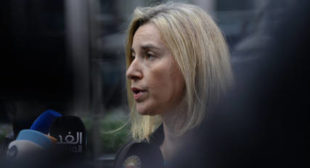 EU's Mogherini, Ecuador FM Hold Presser After Contact Group Meeting on Venezuela