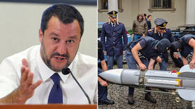 Salvini says he flagged 'Ukrainian group's death threat,' leading to neo-Nazi missile bust