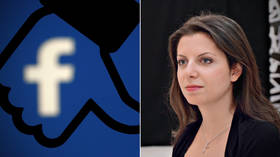 RT Editor-in-Chief Simonyan blocked on Facebook for unclear reason