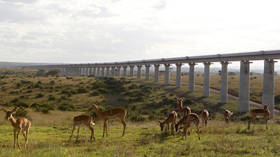New Silk Road: Kenya's massive $1.5bn railway funded & built entirely by China 🎞️