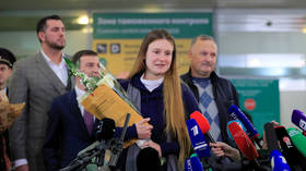 'I did not give up because I simply could not do that, thanks to all who helped me': Butina speaks upon arrival in Moscow