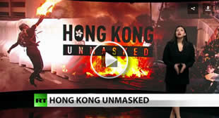 The News with Rick Sanchez – Hong Kong's violent anti-government movement continues to rage 🎞️