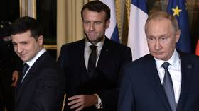 Key takeaway from Ukraine peace talks in Paris is that Zelensky's best friend is Putin