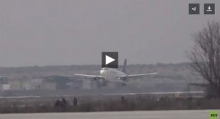 WATCH Aleppo intl airport receive FIRST flight ending years-long shutdown after Syrian troops clear recovering city of militants 🎞️