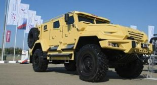Mystery Customer Has Bought Russia's New Bomb- and Bullet-Proof VPK-Ural Armoured Vehicle