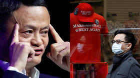 US to China: drop dead, we get our jobs back. China's richest man to US: here, have 1 million masks & Covid-19 test kits