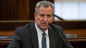 Hospitals '10 days away' from shortages of essential supplies, Mayor De Blasio warns, as Covid-19 cases in NYC top 8,000