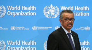 WHO Head Warns Trump of More Body Bags if He Doesn't Stop Politicizing Coronavirus Pandemic