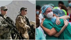 To feel safe, does the world need more weapons or better healthcare? The coronavirus pandemic proves it's the latter 🦠